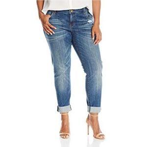 Kut from the Kloth plus Catherine Boyfriend jeans